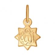 Подвеска мусульманская, золото