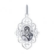 Серебряная иконка