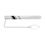Зажим для галстука серебро