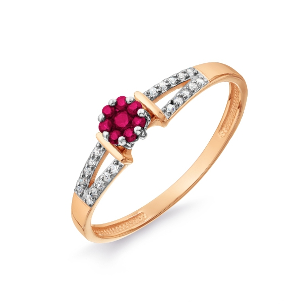 золотые кольца серьги с камнями