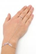 Слейв-браслет серебряный