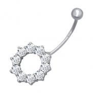 Пирсинг серебро